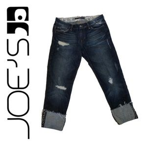 Joe's Jeans | Distressed cuffed